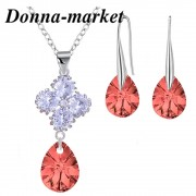 Бижута с кристали на Swarovski - ALLURE , Rose Peach