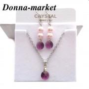 Бижута с кристални перли на Swarovski - ROSALINE