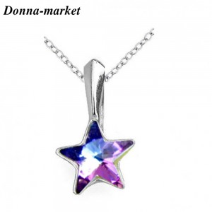 Колие - STAR Vitrail Light , кристали на Swarovski