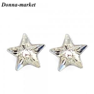 Обеци - STAR Crystal , кристали на Swarovski